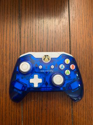 Xbox One Blue Wired Controller for Sale in St. Petersburg, FL