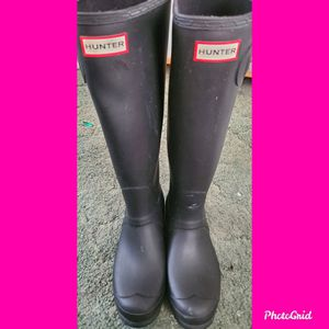 HUNTER BOOTS/ U.S. SIZE 9 for Sale in Sewell, NJ