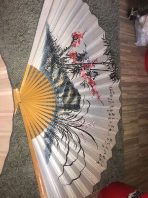 Authentic Asian wall hanging fan for Sale in Oakland, CA