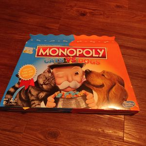 Monopoly Board Game Cats vs. Dogs for Sale in Houston, TX