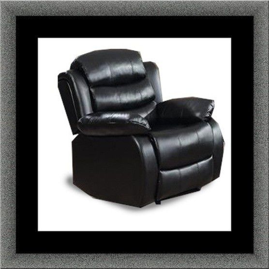 Black recliner chair free delivery