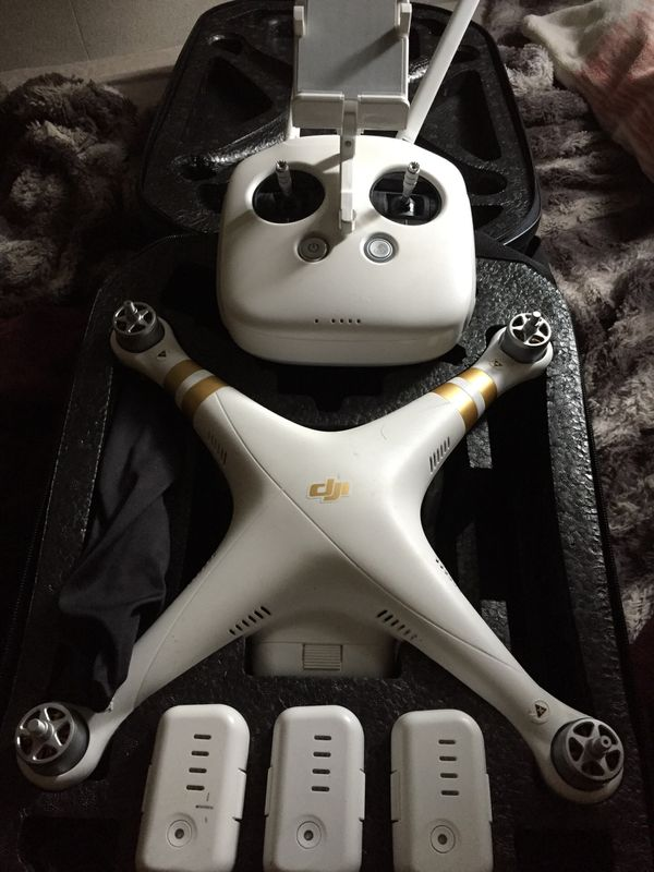 DJI phantom PRO 3 drone