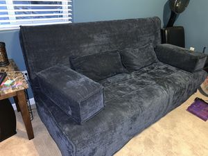 IKEA Suede Day Bed Futon for Sale in Sacramento, CA