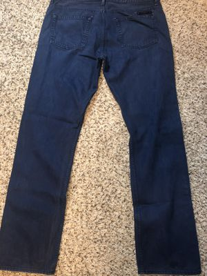 Burberry Brit denim blue jeans 36w 32 for Sale in Westerville, OH