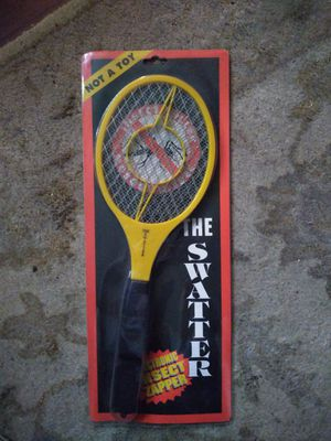 Fly swatter tennis racket for Sale in Ridge, NY