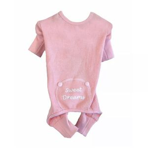 Thermal Dog Pajamas Size Medium Pink Sweet Dreams for Sale in Fremont, CA