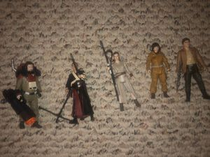 Star Wars figures Poe Dameron Baze Chimrut Rey Rose Disney toys The Force Awakens Rogue One Last Jedi for Sale in Buffalo, NY