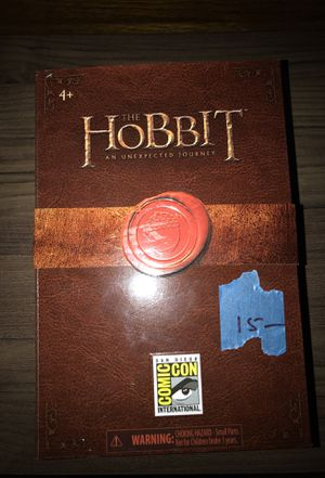 Hobbit -SDCC collectible toy (Bilbo invisible) Lord of the Rings - Limited Edition for Sale in Hayward, CA