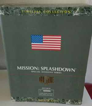 RARE 1998 TOYS R US EXCLUSIVE GI JOE MISSION SPLASHDOWN FIGURE for Sale in Torrance, CA