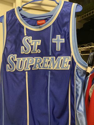 St supreme drop april 2020 basketball jersey sz medium for Sale in Virginia Beach, VA