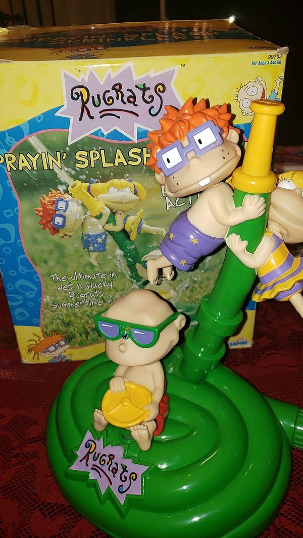 RUGRATS Nickelodeon SPRINKLER water fun