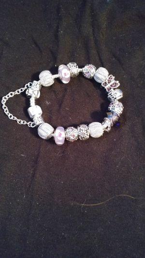 Europeon charm beads bracelet for Sale in Salt Lake City, UT