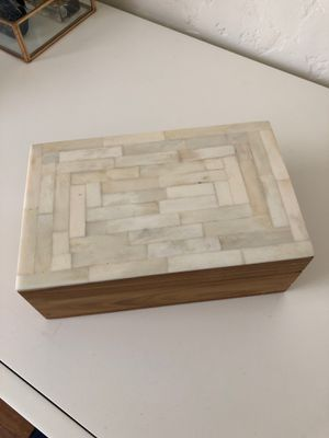 Marble and wood box for Sale in San Diego, CA