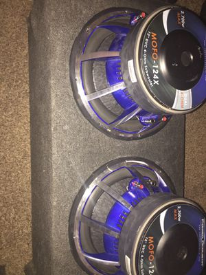 MOFO 12 inch subs for Sale in Tempe, AZ
