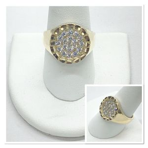 10k Gold Nugget Ring for Sale in Dallas, TX