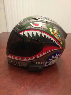 BELL FLYING TIGER helmet with Bluetooth for Sale in Haltom City, TX