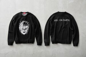 Brand NEW Supreme SS2018 Hellraiser Crewneck Sweater - Medium for Sale in Tacoma, WA