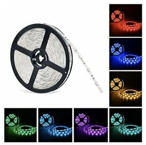 BRAND NEW 5m waterproof LED light strip ribbon tape DC12v bright for Sale in Los Angeles, CA