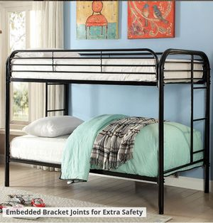 Twin over Twin bunk bed for Sale in Oak Grove, OR