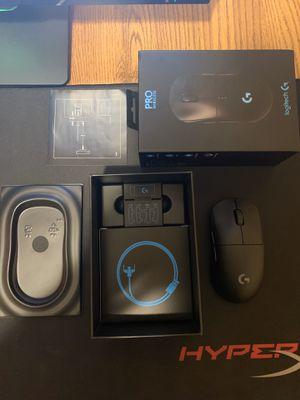 Logitech G Pro Wireless Mouse for Sale in Hazel Park, MI