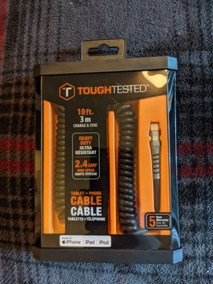 Tough Tested iPhone Cable for Sale in Bothell, WA