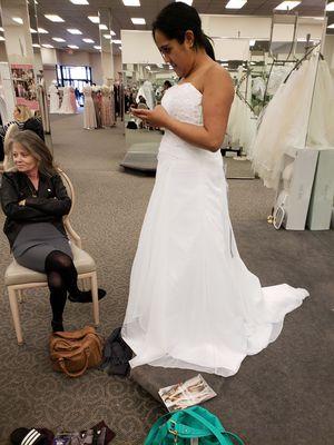 wedding dress size 10 for Sale in Salt Lake City, UT