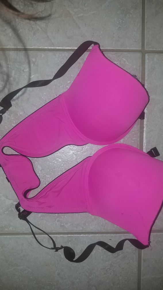 Hot Pink Bra (Female only)