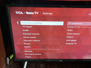 """32"""" TCL Roku TV for Sale in Bothell, WA"""