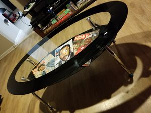 Set of Glass Tables with Lower Shelf for Sale in Olney, MD