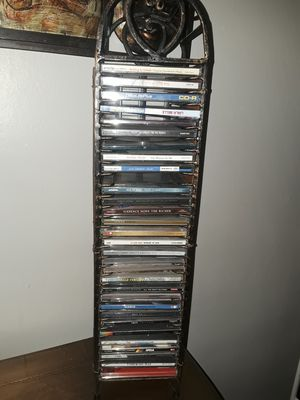 CD HOLDER WITH CDS for Sale in Buffalo, NY