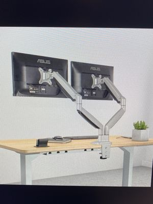 EleTab Dual Arm Monitor Stand — Perfect for Gaming/Work Productivity for Sale in Santa Barbara, CA