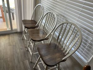 Barstools (3) Good condition. Solid for Sale in Santee, CA