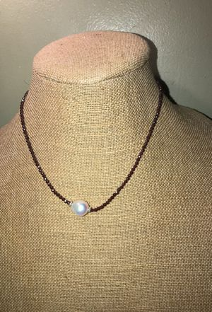 Authentic pearl Necklace and Earrings for Sale in Frederick, MD