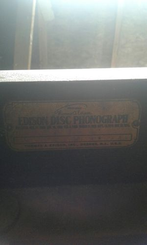 Thomas edison Phonograph for Sale in Kingsley, PA