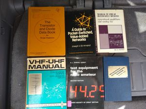 6 Vintage electronics/radio books for Sale in Palm Bay, FL