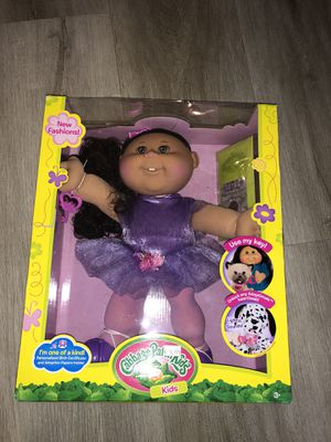 Cabbage Patch Kids for Adoptimals Purple Dress Doll New for Sale in Las Vegas, NV
