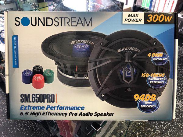 "SoundStream 6.5"" High Efficiency Pro Audio Speaker"