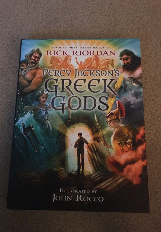 Percy jacksons Greek gods book