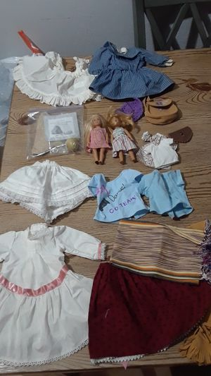 American Girl Doll lot , clothes, small American Girl Dolls, for Sale in Tacoma, WA