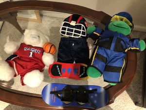 Build a bear stuffed animals and accessories for Sale in Portland, OR