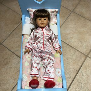 """American Girl Bundle """"Doll, Bed With Bedding And Clothes And Coconut !"""" for Sale in Bensalem, PA"""