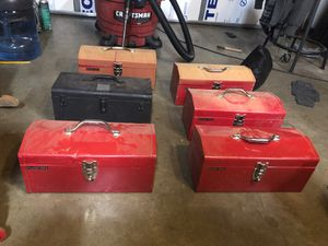 Stack-on metal toolboxes for Sale in Olympia, WA