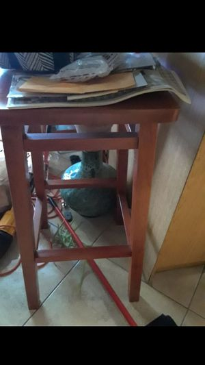 Bar stool brown 30in mint for Sale in Fort Lauderdale, FL