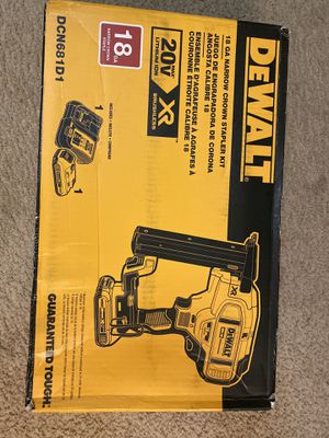 Dewalt stapler Kit for Sale in Temple Hills, MD