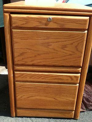Oak file cabinet for Sale in Colorado Springs, CO