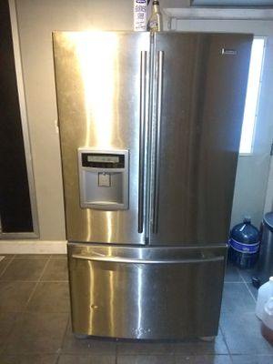 Stainless Steel Bottom Freezer Frig for Sale in Washington, DC