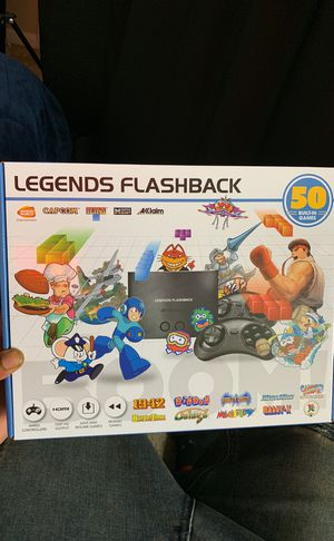 2019 LEGENDS FLASHBACK CLASSIC ARCADE CONSOLE 50 games INCLUDED for Sale in Roswell, GA