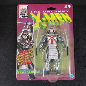 Marvel Legends Xmen Retro Silver Samurai Action Figure for Sale in Cupertino, CA
