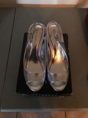 Ladies back out strap heels for Sale in Winter Haven, FL
