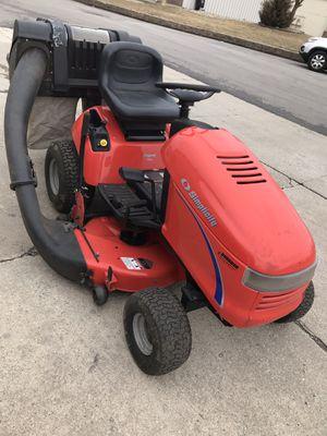 Electric start snapper riding mower 8 hp , 28 inc deck older